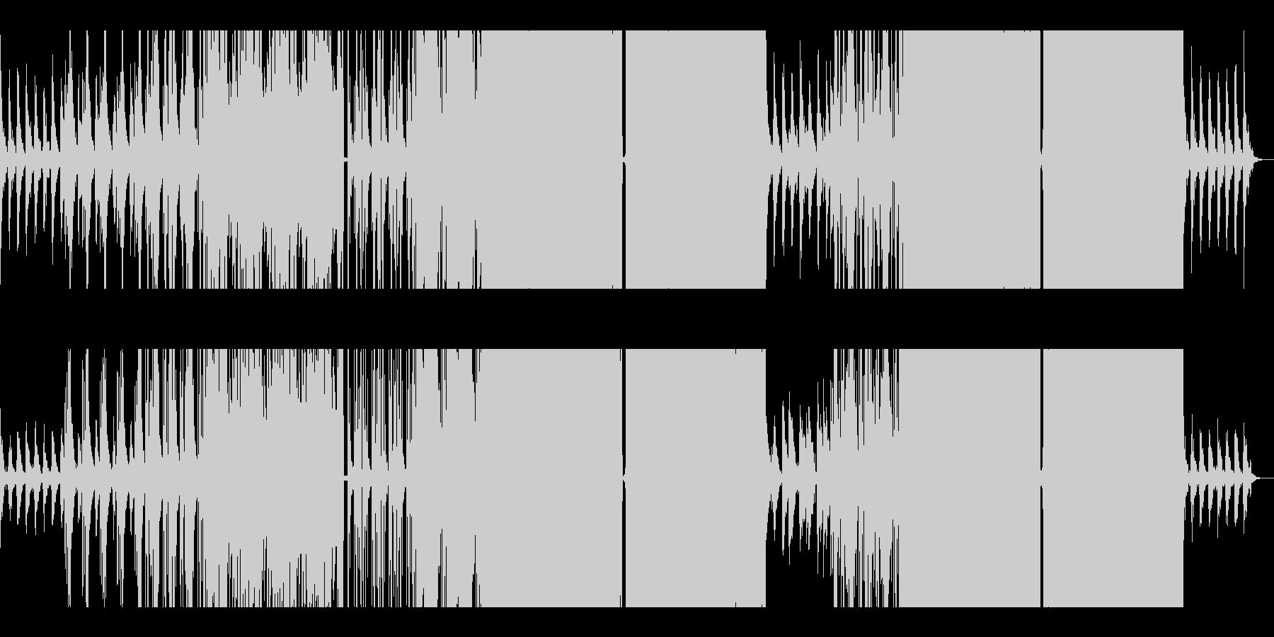 【リミックス】ピアノが印象的なポップスの未再生の波形