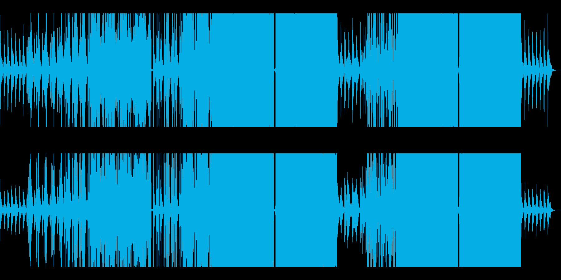 【リミックス】ピアノが印象的なポップスの再生済みの波形