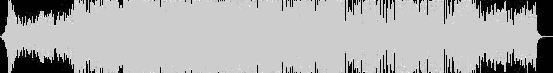 重低音のエモいピアノEDMの未再生の波形