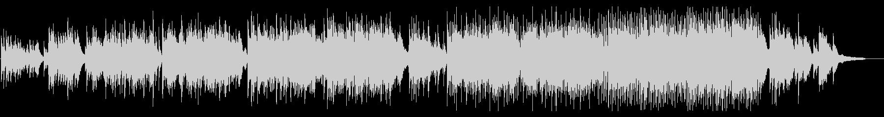 感動的なピアノ曲 結婚式手紙シーンなどにの未再生の波形