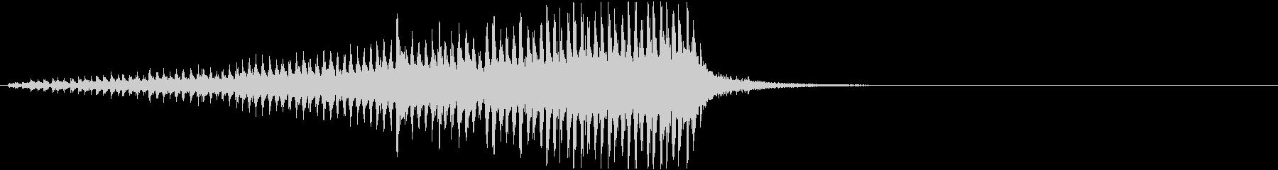 ドラムロールD(長め・シンバル無し)の未再生の波形