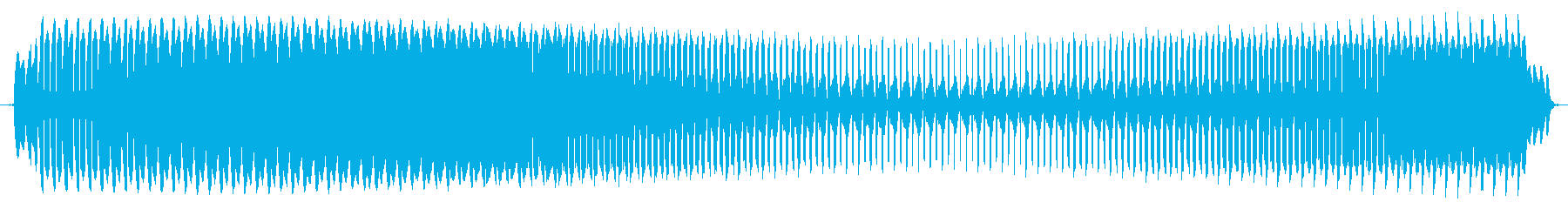 プョォー。クイズ不正解・ブザー音の再生済みの波形