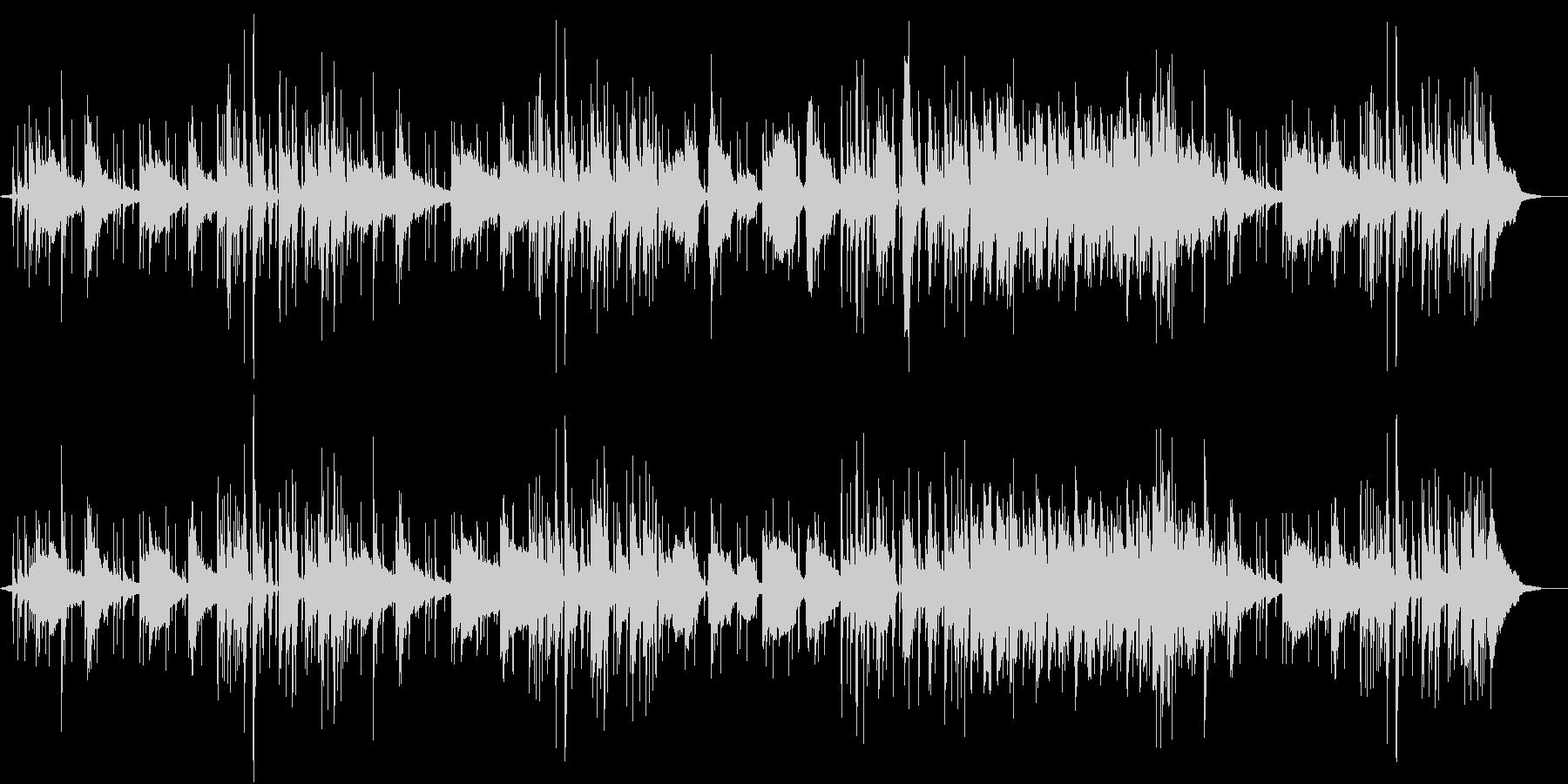 静かなFunkの未再生の波形