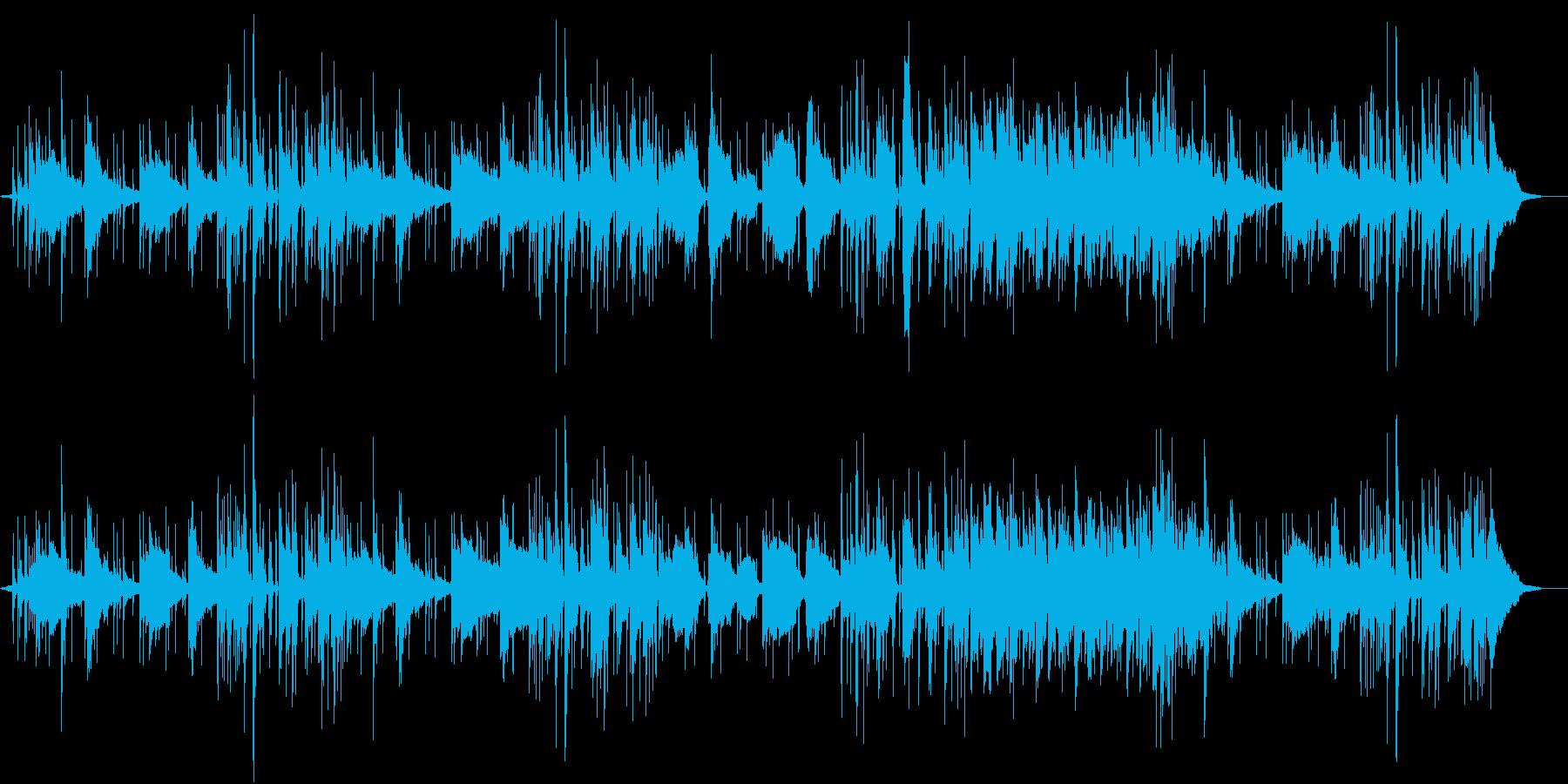 静かなFunkの再生済みの波形