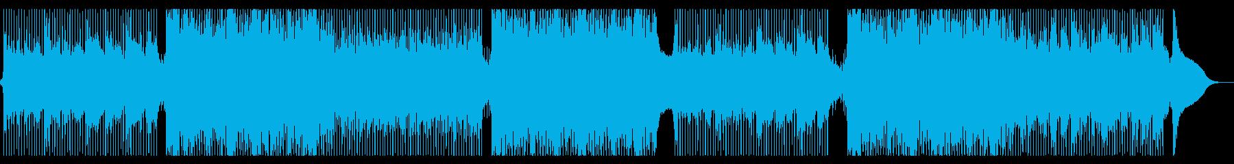 チャントの声がエモいコーポレート系の再生済みの波形