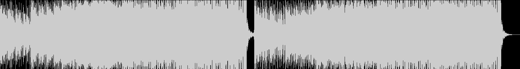 明るくてはじける可愛いEDMの未再生の波形