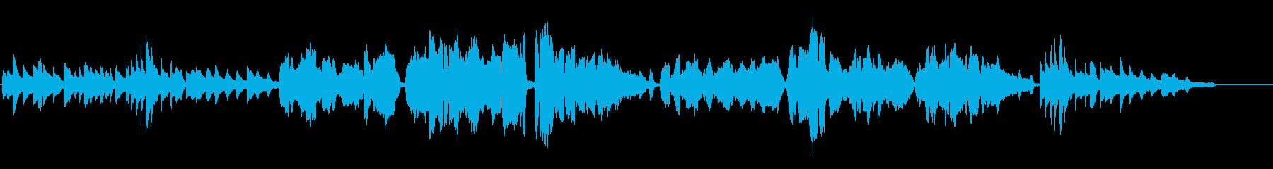 雨降りお月【ソプラノとピアノ】童謡の再生済みの波形
