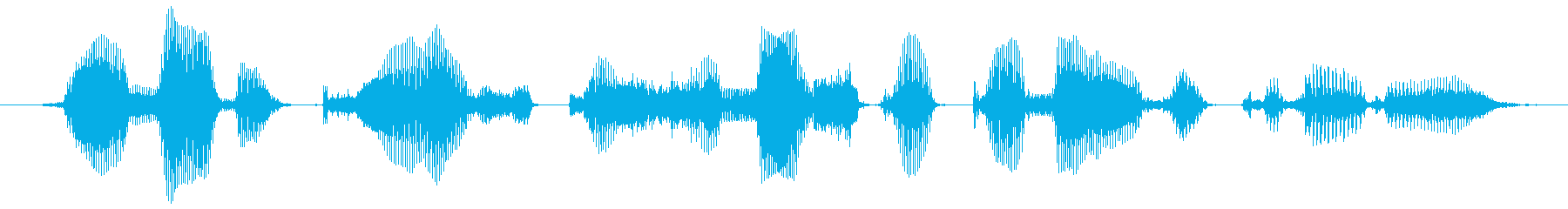 Can you talk to me too casually?'s reproduced waveform