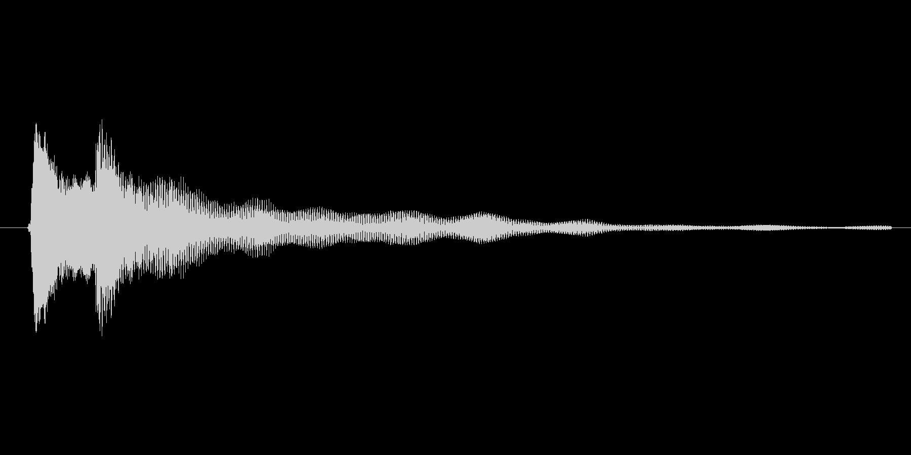 ゲーム、クイズ(ピンポン音)_004の未再生の波形