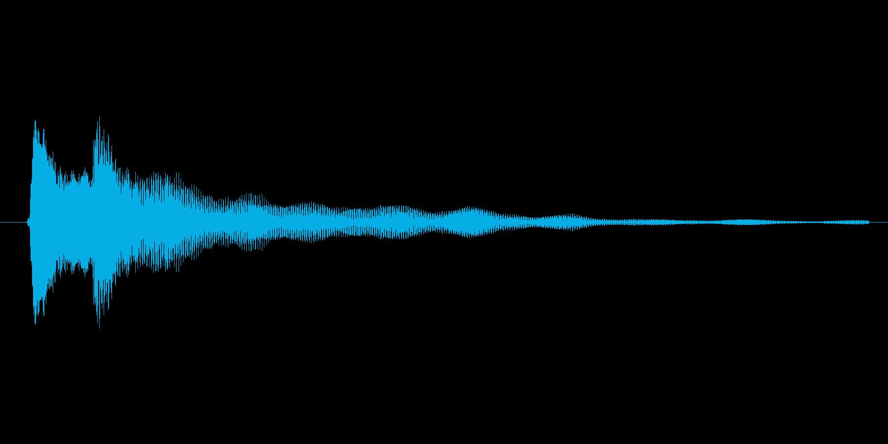 ゲーム、クイズ(ピンポン音)_004の再生済みの波形