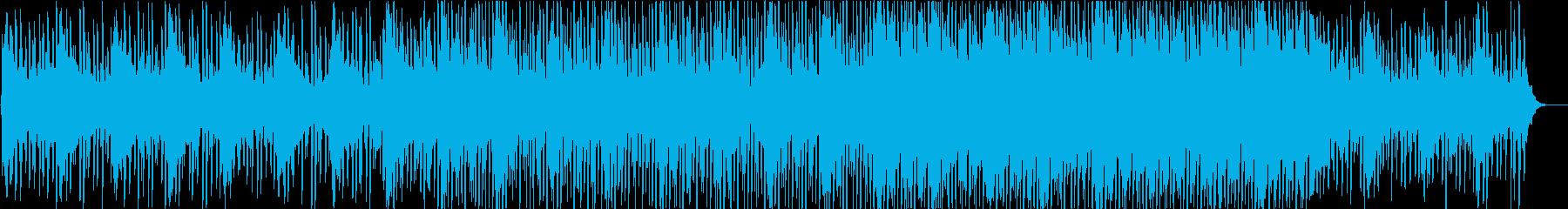 スピード感のある爽やかなエレクトロニックの再生済みの波形
