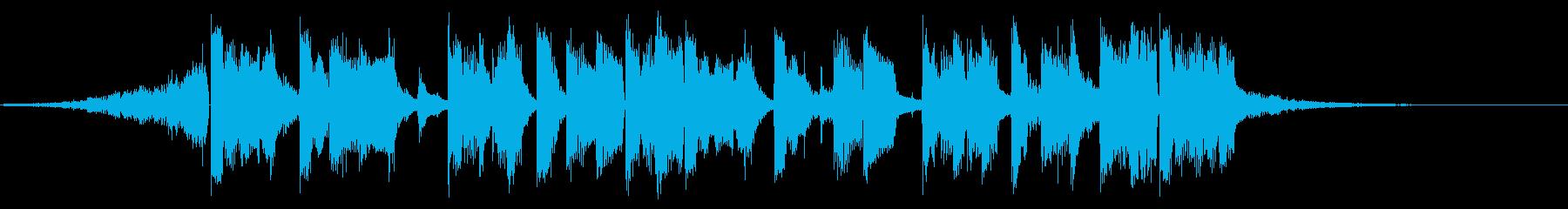 キックALT。混合の再生済みの波形