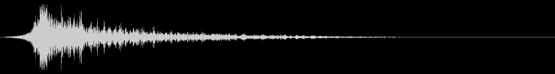 シュードーン-31-2(インパクト音)の未再生の波形