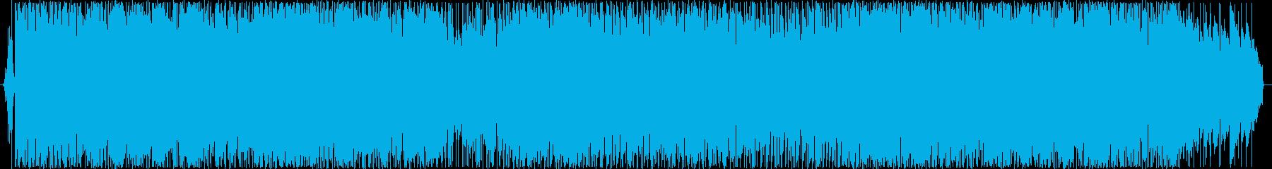 都会派オシャレ系さわやかなギターサウンドの再生済みの波形