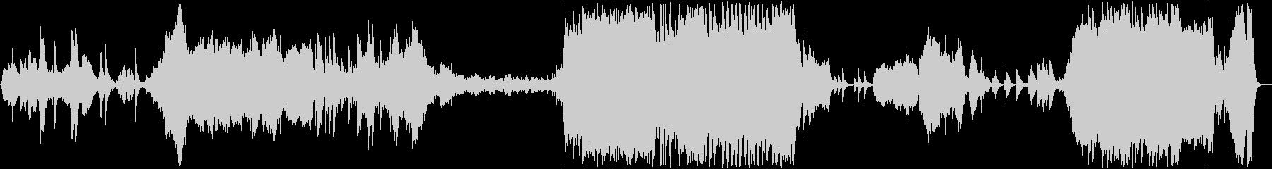 和琴が主役の和風インストオケの未再生の波形