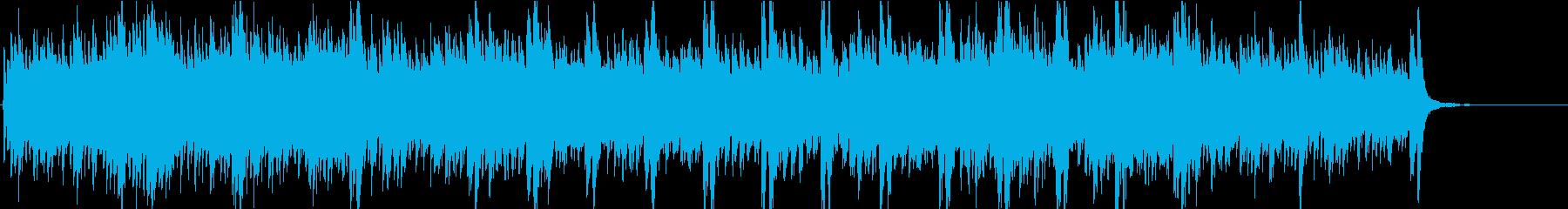オーケストラ楽器刺激的な瞑想的なテ...の再生済みの波形