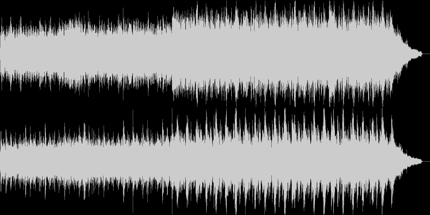 現代的な和風管弦楽③ピアノと弦楽のみの未再生の波形