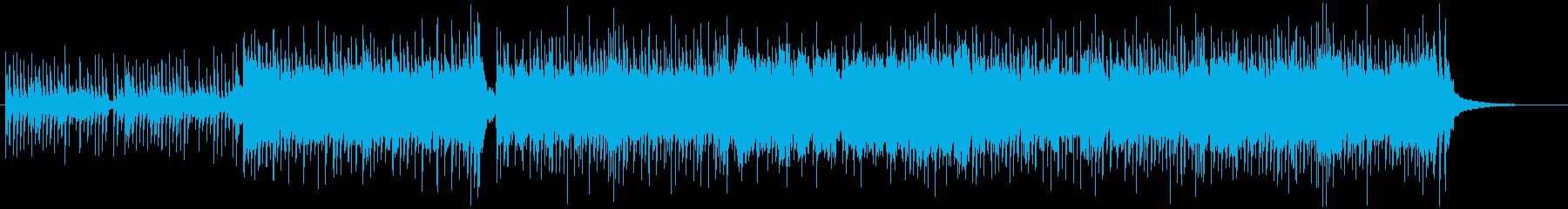 和風、三味線メタル2、激しい(声なし)cの再生済みの波形