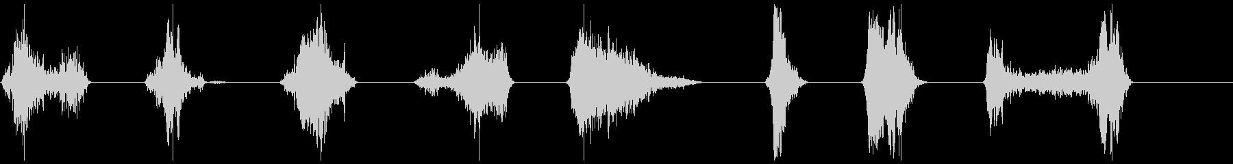 モンスター、タイプ1、Ro音8-15の未再生の波形