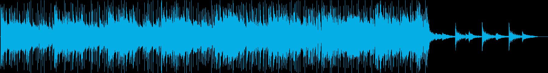 爽やかで軽快なフィールドミュージックの再生済みの波形