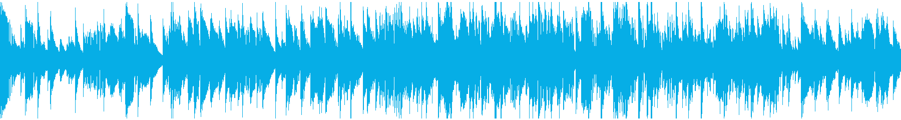 ジャズラウンジ◆クールな大人系※ループ版の再生済みの波形