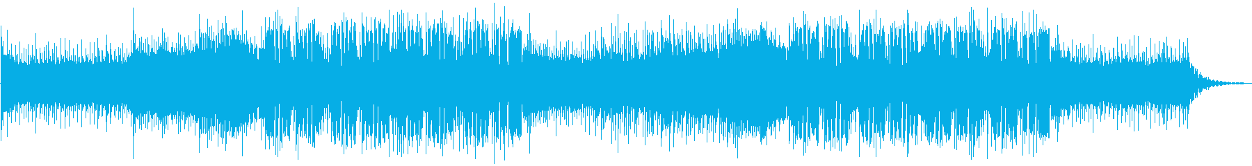 EDM 躍動感・爽やかの再生済みの波形
