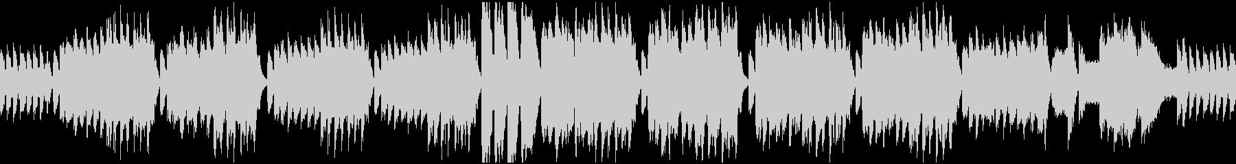 クラシカルな怪しいBGM_ループの未再生の波形