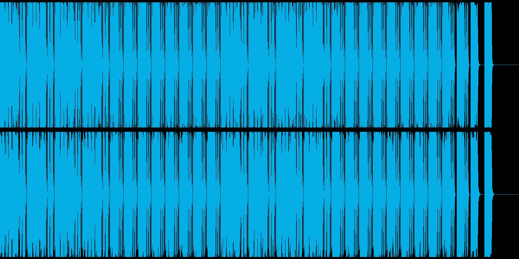 不思議な謎を解いている時に流れてそうな曲の再生済みの波形