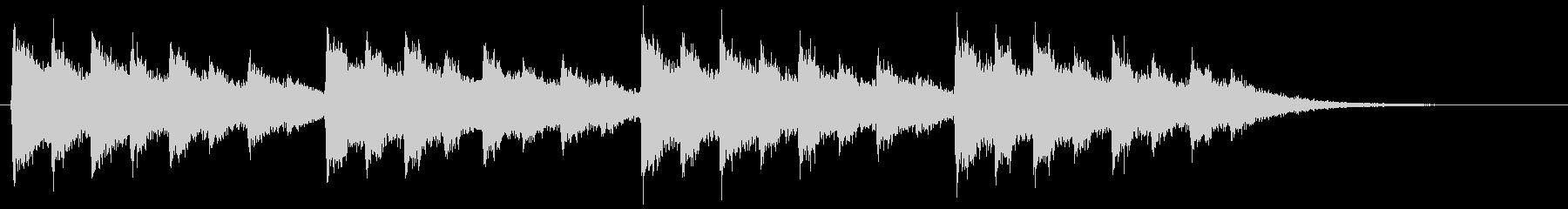 148クリスマスのベル音1の未再生の波形