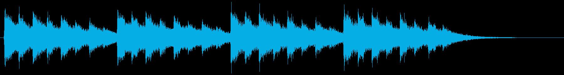 148クリスマスのベル音1の再生済みの波形