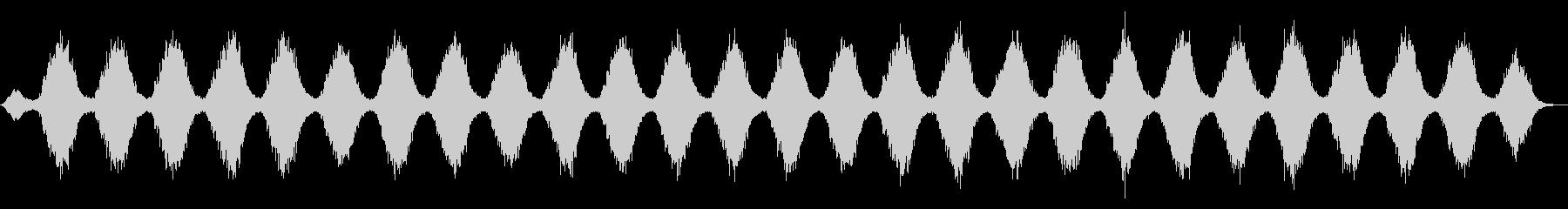 氷のタペストリーのようなアンビエントの未再生の波形