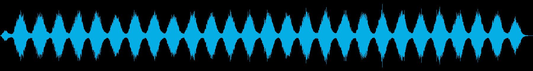 氷のタペストリーのようなアンビエントの再生済みの波形