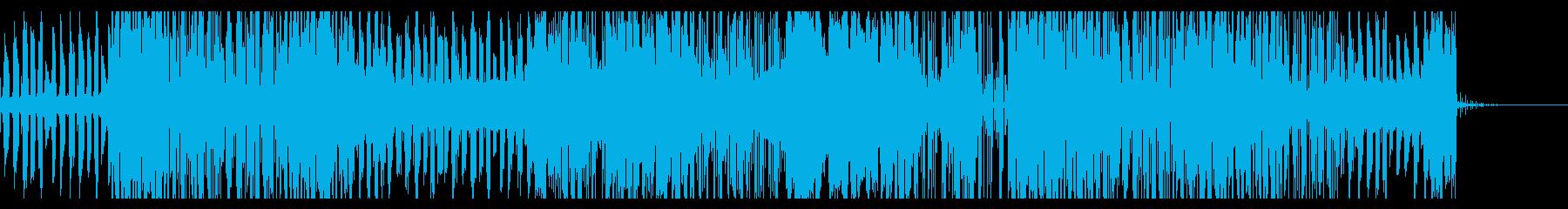 不思議な空間を漂うエレクトロニカの再生済みの波形