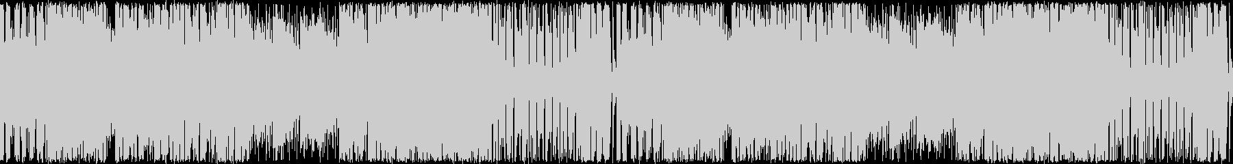 ハイテンションなピコピコシンセ/ループ版の未再生の波形