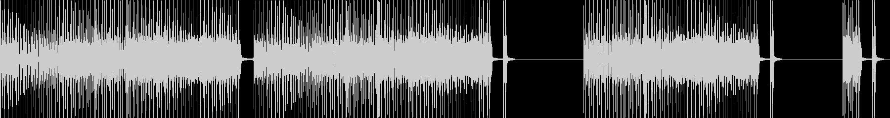 スピード感ある響きが綺麗なメロディーの未再生の波形