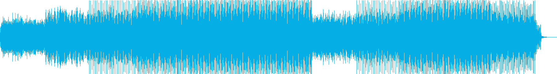 ニュース速報BGM(ベーシックA)の再生済みの波形