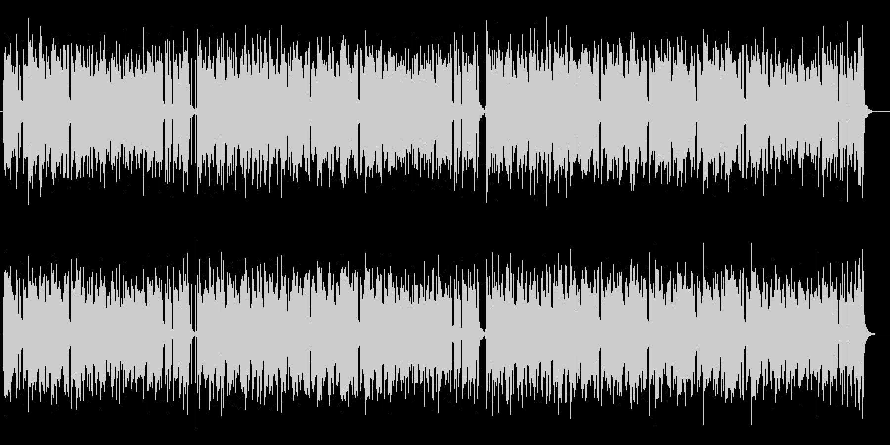 しっとり落ち着きのあるスローテンポの曲の未再生の波形