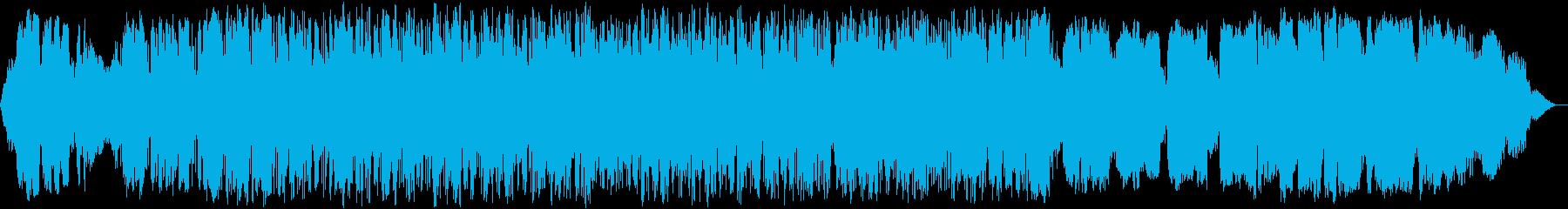 竹笛の瞑想音楽の再生済みの波形
