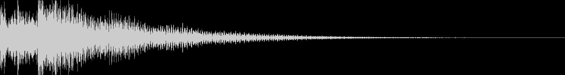 ドコドン(迫力のあるティンパニー)の未再生の波形