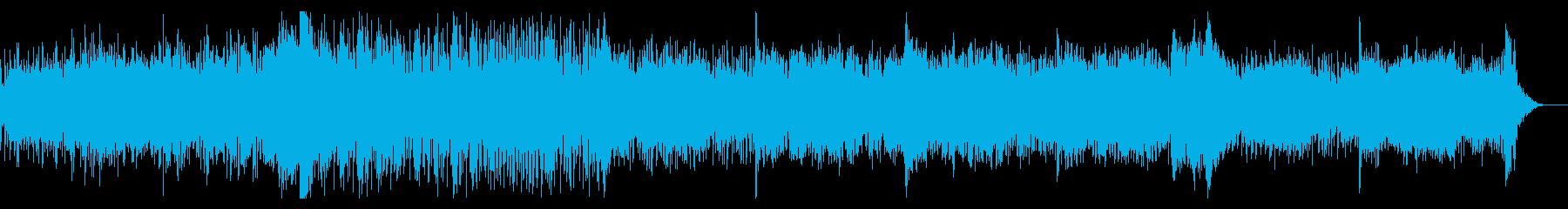 サイバーなシネマティックアンビエントの再生済みの波形
