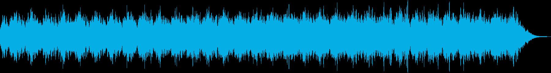 浮遊感、無重力を感じるヒーリングBGMの再生済みの波形