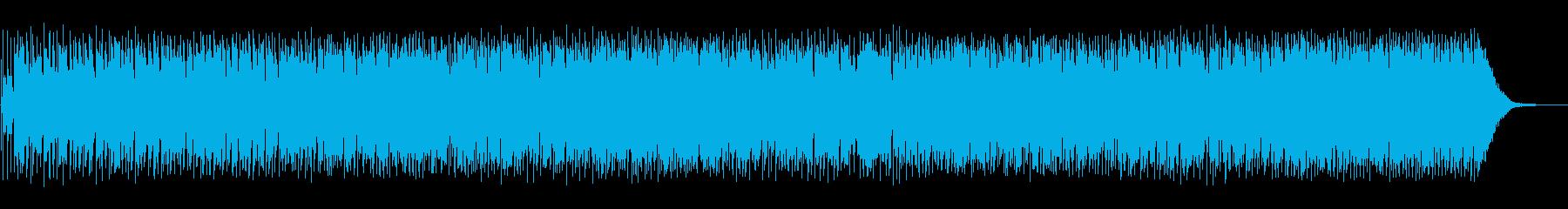 日々の葛藤を描いたロカビリー風ソングの再生済みの波形