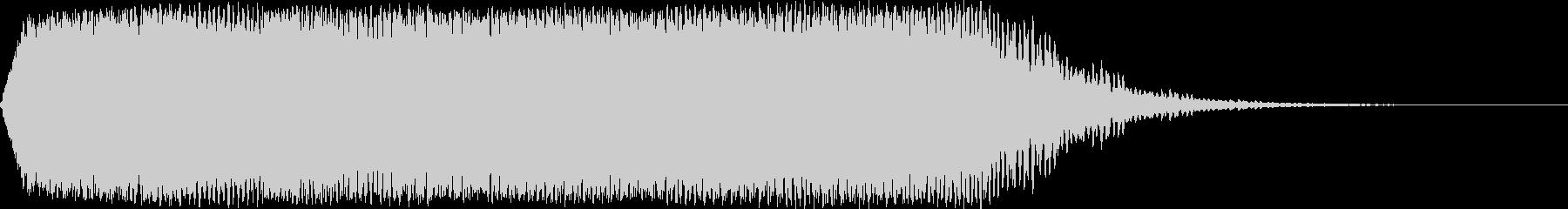 【ゲーム・アプリ】FX_02 WARPの未再生の波形