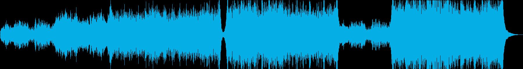 切ないピアノから始まるオーケストラの再生済みの波形