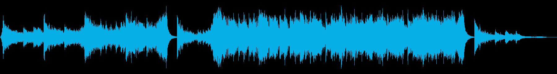 Epic/予告・エンディング系の再生済みの波形