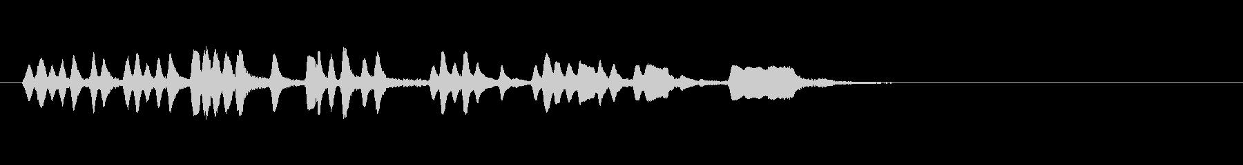 テーマ3A:フルートの未再生の波形