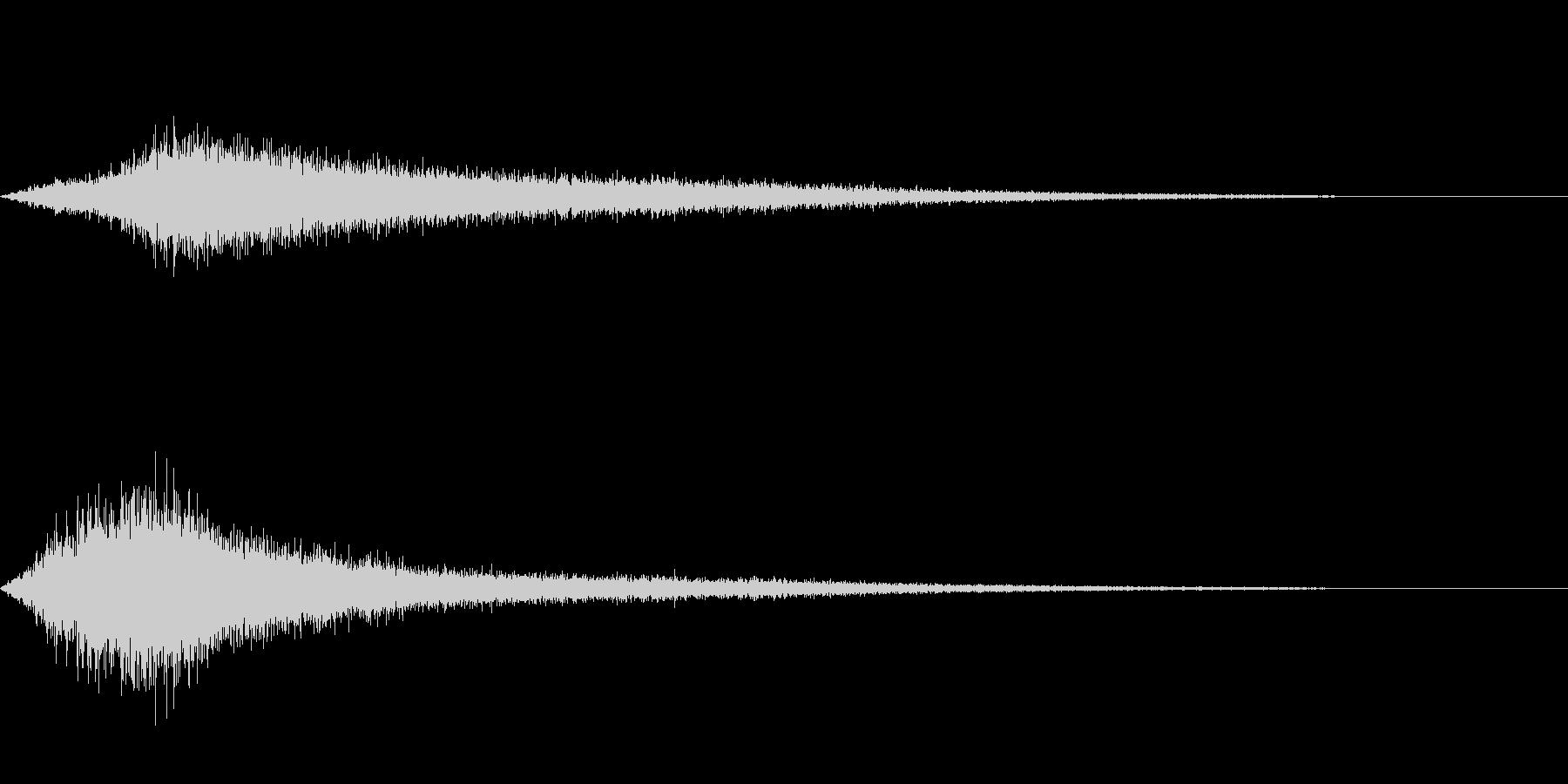 【生録音】 早朝の街 交通 環境音 27の未再生の波形