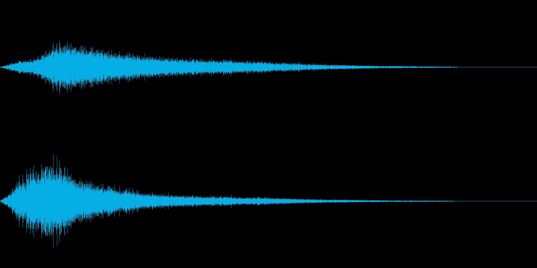 【生録音】 早朝の街 交通 環境音 27の再生済みの波形