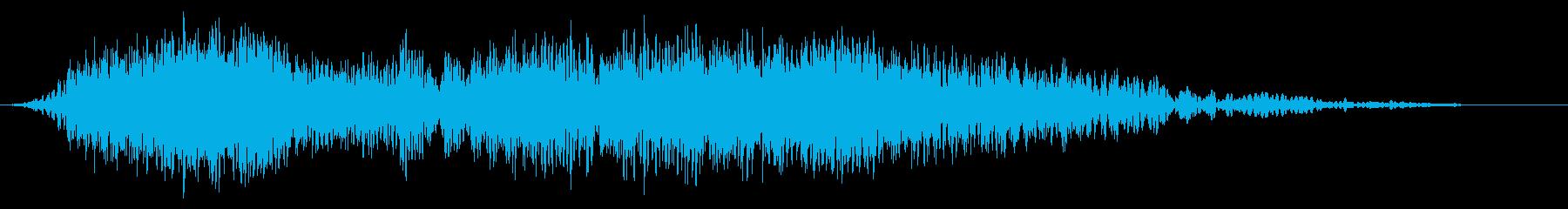 火;大きい溶岩爆発フレアの再生済みの波形