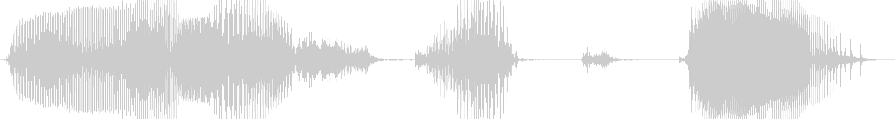 ボーナス確定!の未再生の波形